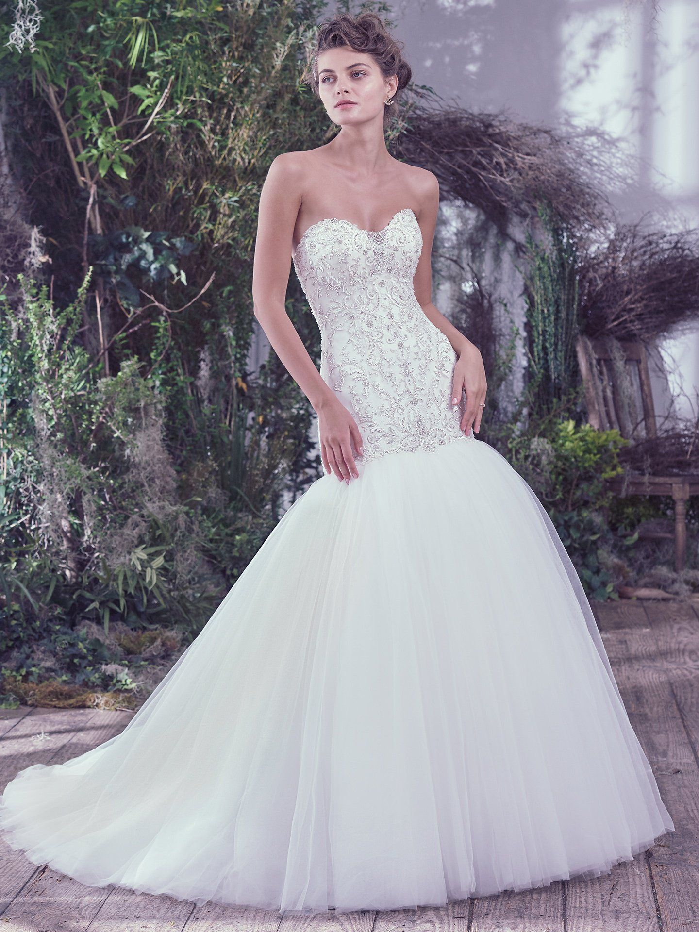 Form fitting lace wedding dresses  Maggie Sottero Wedding Dresses  Maggie sottero and Wedding dress