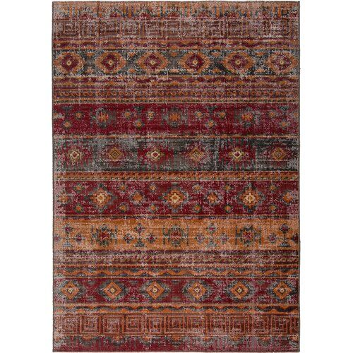 Red Rugs For Less Flat Woven Rug