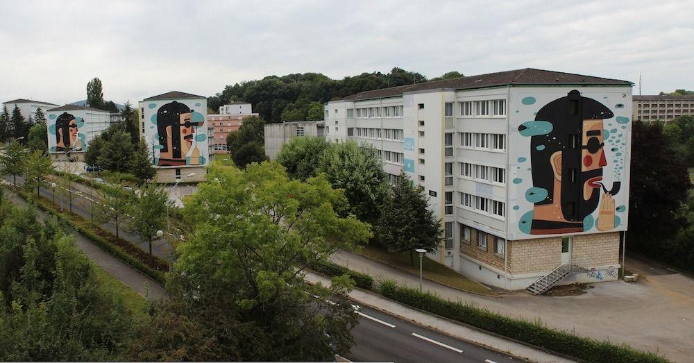 Agostino, Besançon, France - unurth | street art