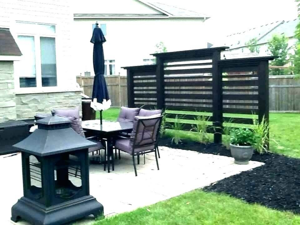 27 great ideas diy outdoor privacy screen ideas for your