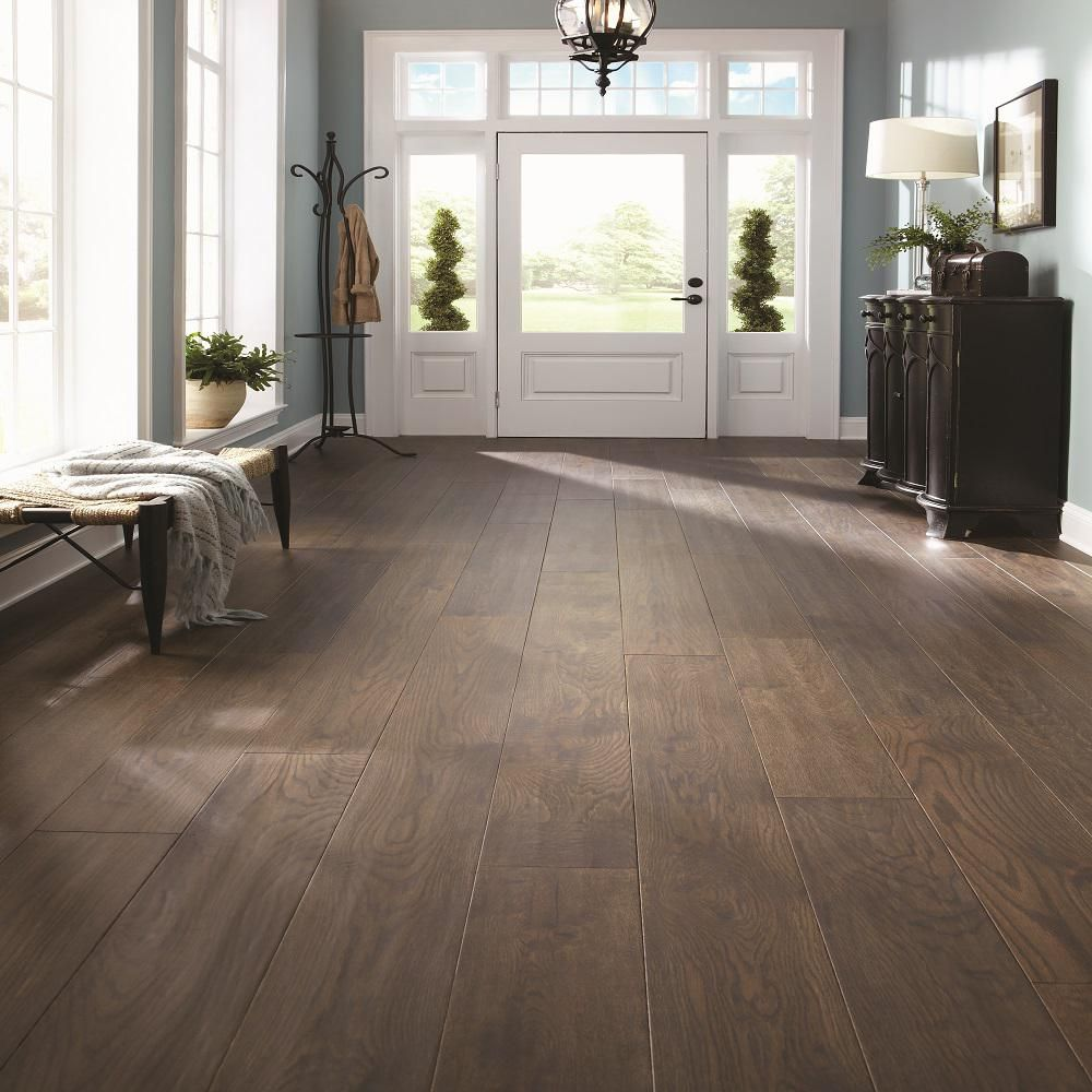 Mullican Flooring Castillian Oak Cordovan Hand Sculpted 1 2 In X 7 In X Random Length Engineer Mullican Hardwood Flooring Hardwood Floors Engineered Hardwood