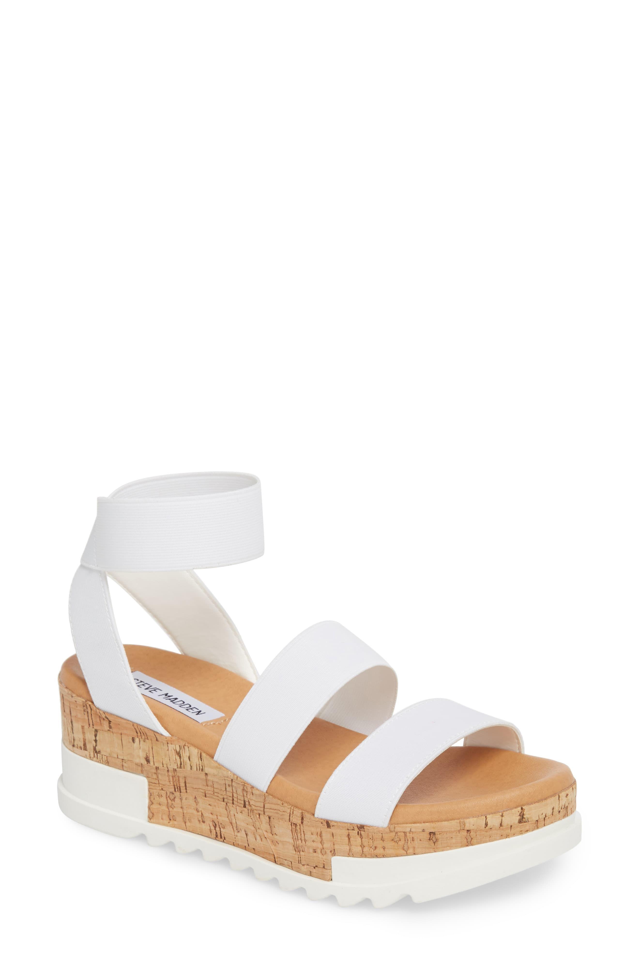 6037c686cd4 Women's Steve Madden Bandi Platform Wedge Sandal, Size 11 M - Brown ...