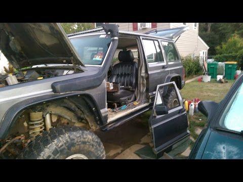 89 Cherokee Door Hinge Repair And More Door Hinge Repair Jeep Parts Jeep Cherokee Xj