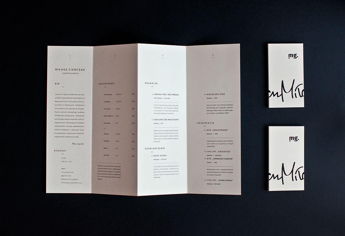 brochure resumes
