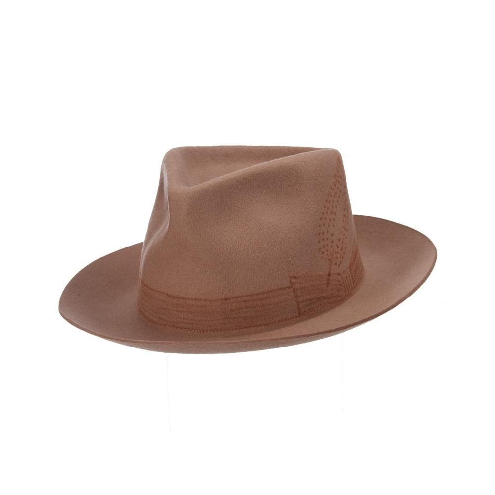 Wool Felt Is The Perfect Match For Almost Any Season It S Particularly Suited To Help You Enjoy The Colors Of Changing Fall Leaves Brooklyn Hat Hat Tip Fedora