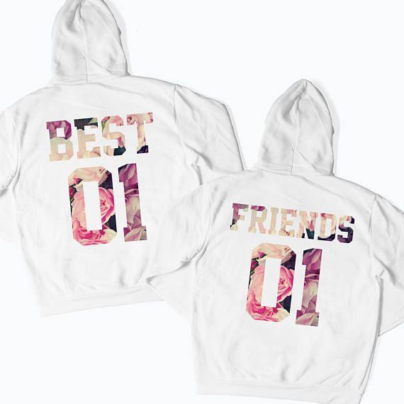 Best Friends Matching T-Shirts Tops Tees Matching Couple Shirts Matching Besties, BFF, Best Friends Forever, Gift for Her, Girls #BFFL