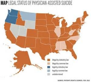 Where is Euthanasia legal in the United States Euthanasia Mercy