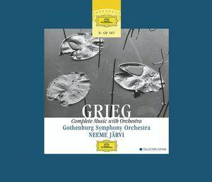 GRIEG Complete Music with Orchestra - Järvi - Deutsche Grammophon