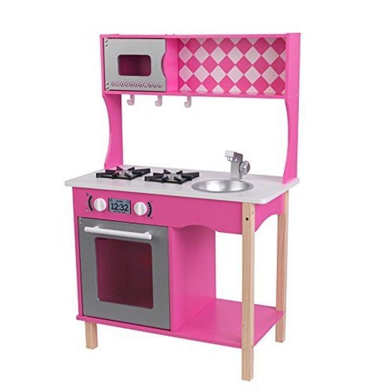 Kidkraft Kitchen 42 Pretend Play Kitchen Pink Play Kitchen