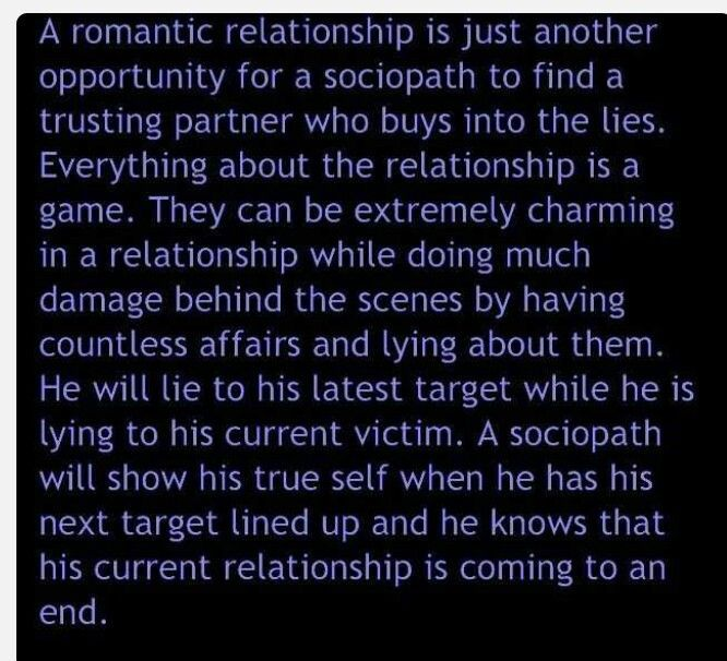Narcissistic personality disorder romantic relationships