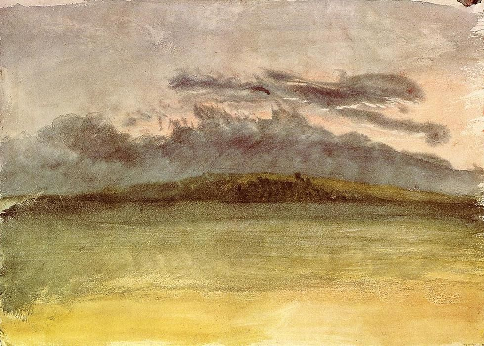 William Turner Storm Clouds Coucher Du Soleil William Turner