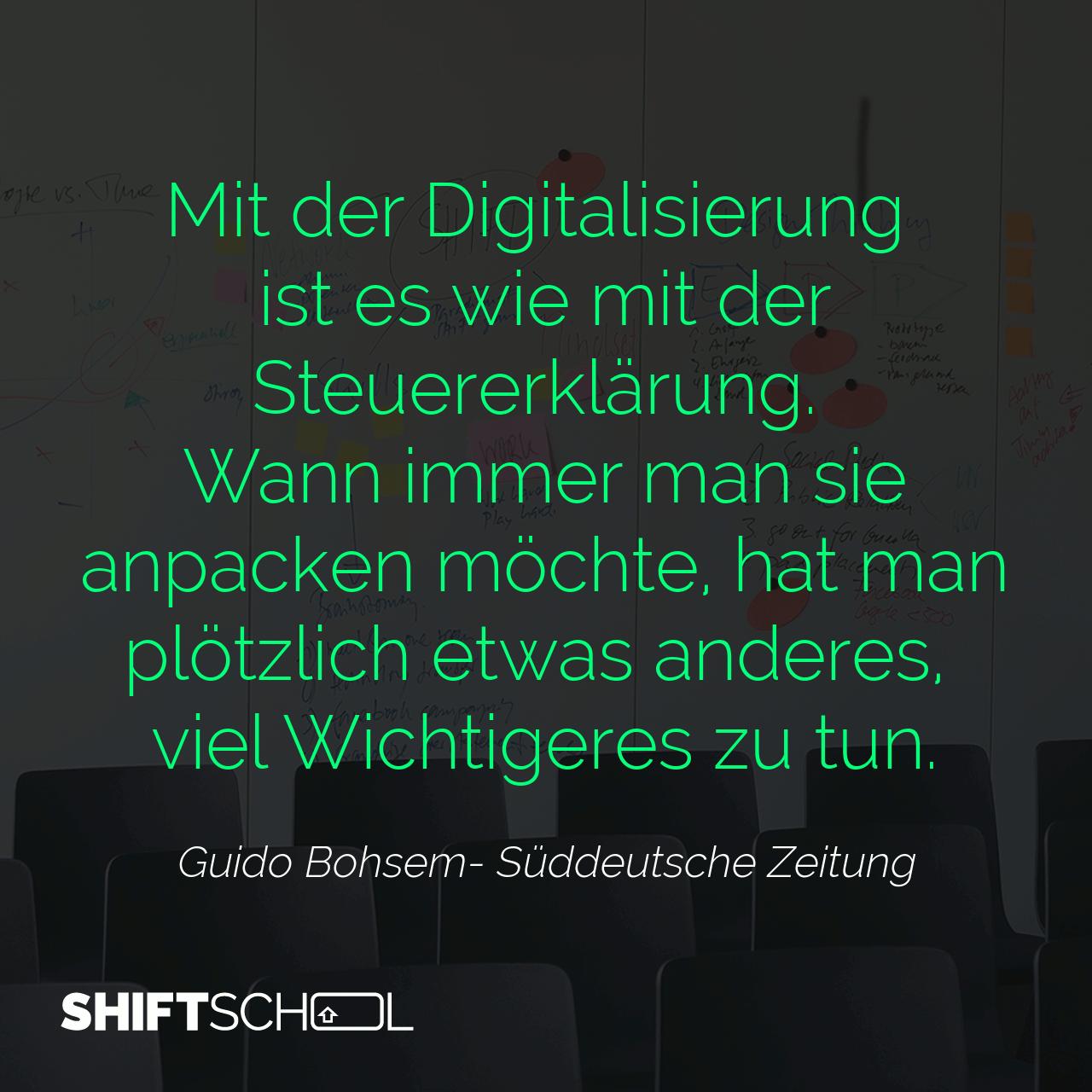 Jetzt wird in die Hände gespuckt... #aufgehts #keineausreden #digitalisierung #mindshift #nodigitalprocrastination
