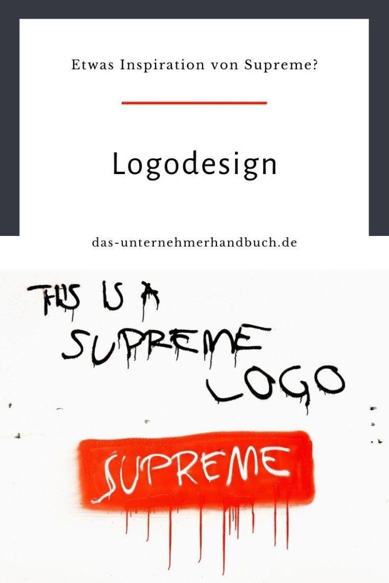 Etwas Inspiration Von Supreme Orientieren Sie Sich An Der Erfolgsgeschichte Dieses Etablierten Und Weltbekannten Fashion Logos Logo Design Logos Erstellen Coole Schriftarten
