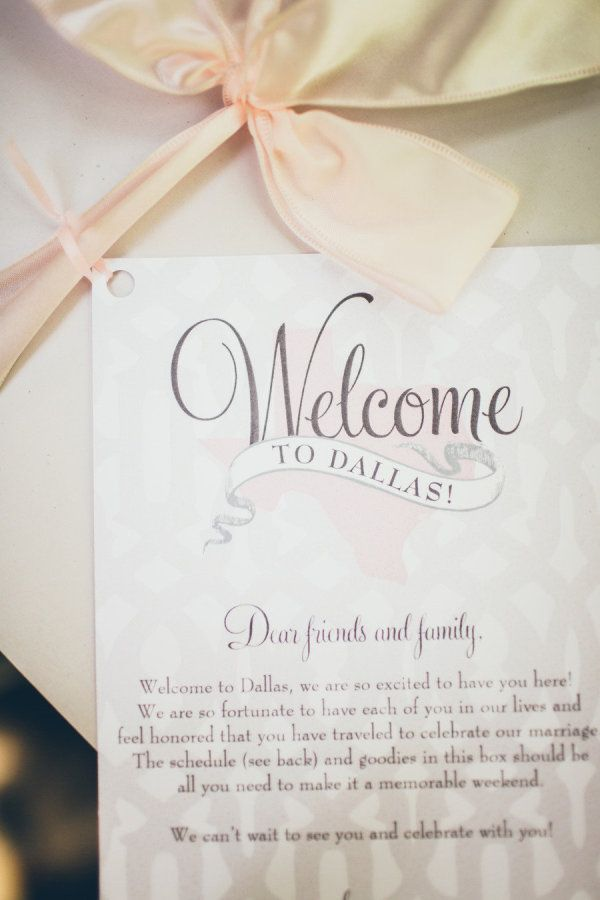 Wedding Gift Bag Notes : Photography By / jessbarfield.com, Planning By / carolineevents.com ...