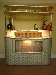 Vintage Cocktail Bar Home Drinks Cabinet Retro 50 S 60 S 70 S Ebay