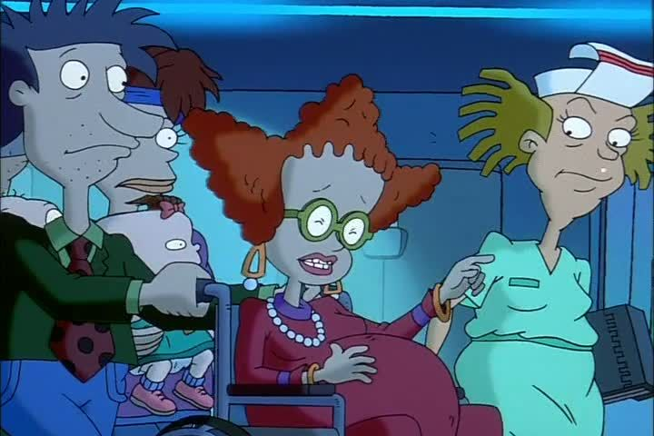 Didi Is In Labor While Being Pregnant With Dil Rugrats