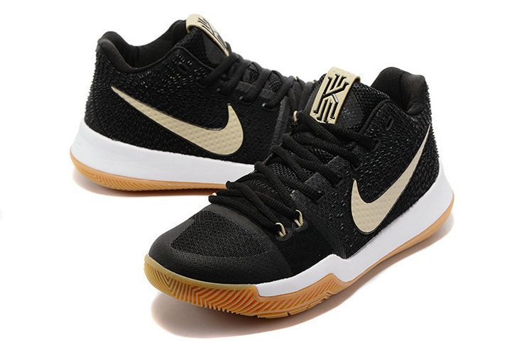 5111ec60062a 2017-2018 Newest And Cheapest Badge of Honor Black Gum Kyrie 3 III ...