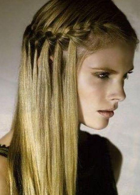 Peinados fáciles con trenzas peinados MMar Pinterest Faciles