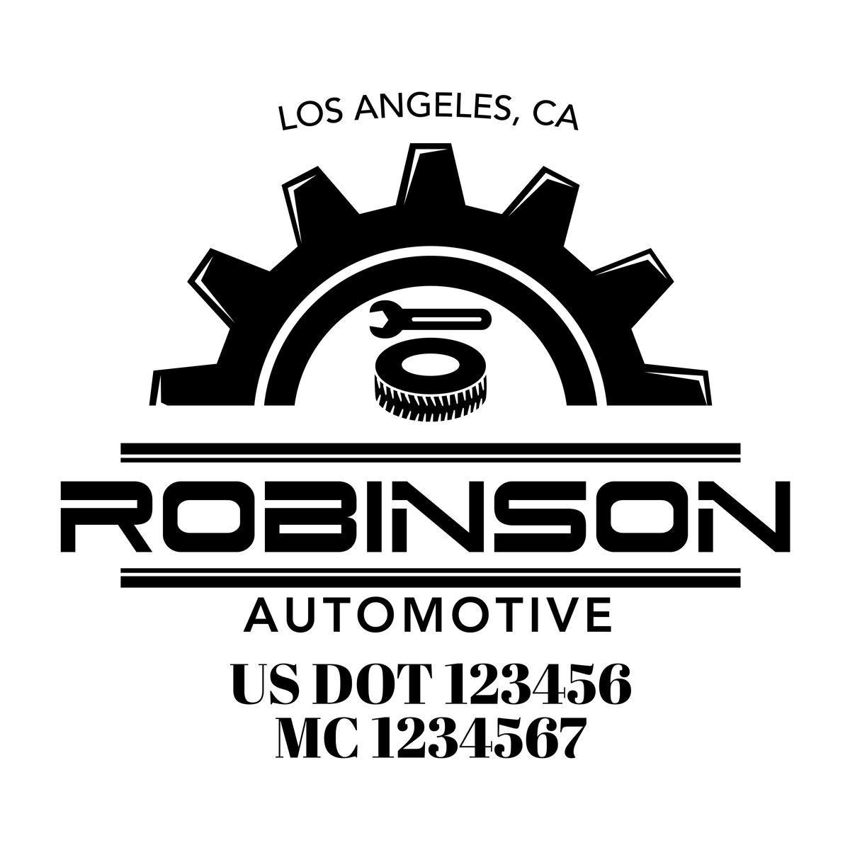 Mechanic Auto Repair Auto Body Shop Company Decal 2 Pack Auto Body Shop Auto Repair Auto Body