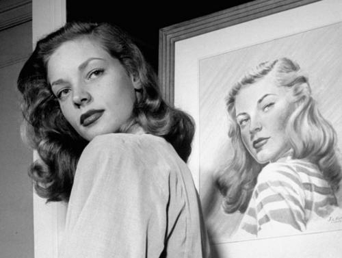 Lauren Bacall, by Nina Leen.