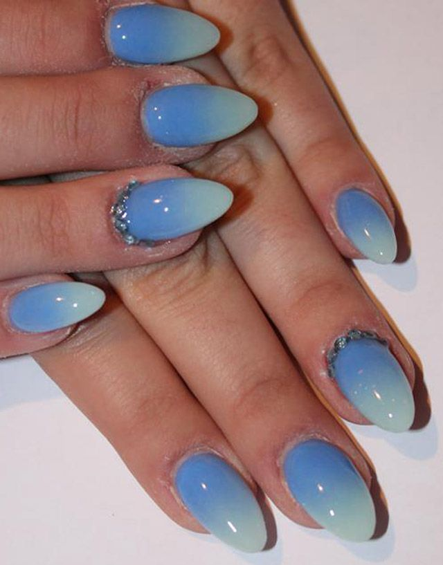 14 Simple Nails for Summer Nail Designs | Fans, Summer and Shapes