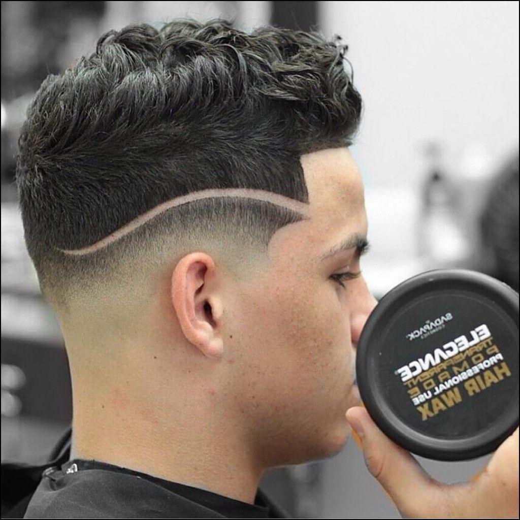 taper fade haircut with designs | mens hairstyles | fade