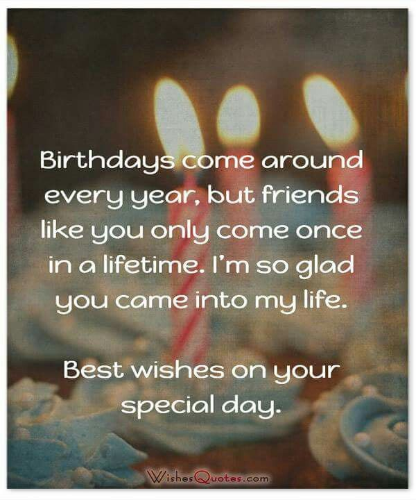 Birthday wish for a dear friend Birthday wishes \ other - best wishes in life