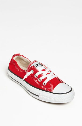 red shoreline converse shoes for women