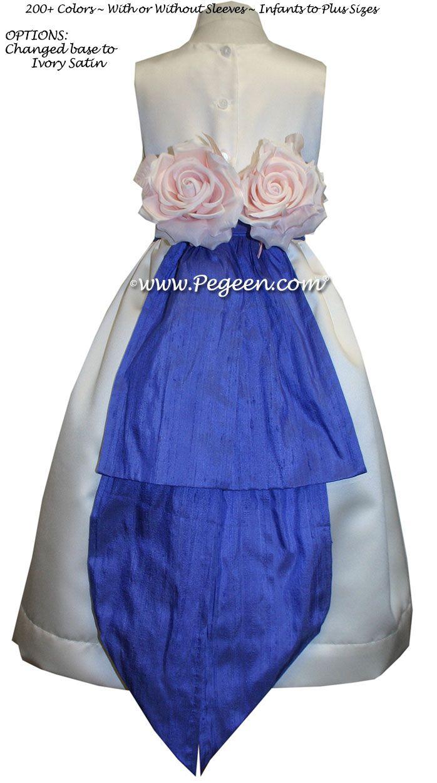 Flower Girl Dresses By Pegeen Blue Flower Girl Dresses
