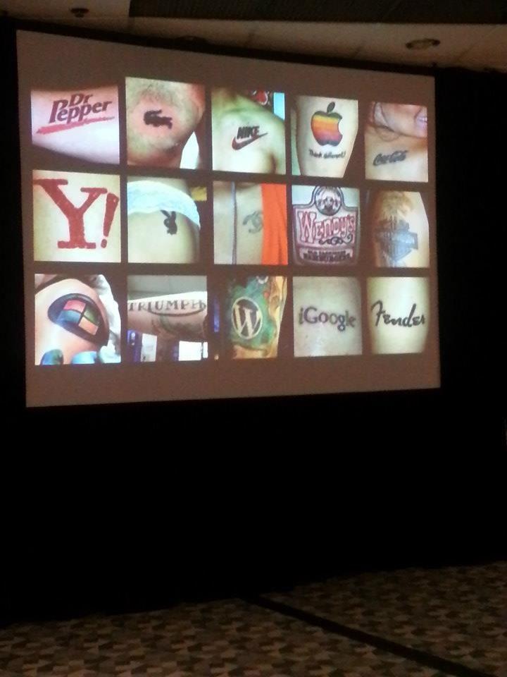 DC Ad Club President Sherri Anne Green introducing a panel