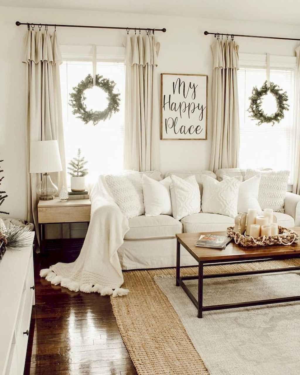 85 beautiful farmhouse living room curtains decor ideas