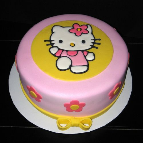 Simple Hello Kitty cake tt 2 Et Pinterest