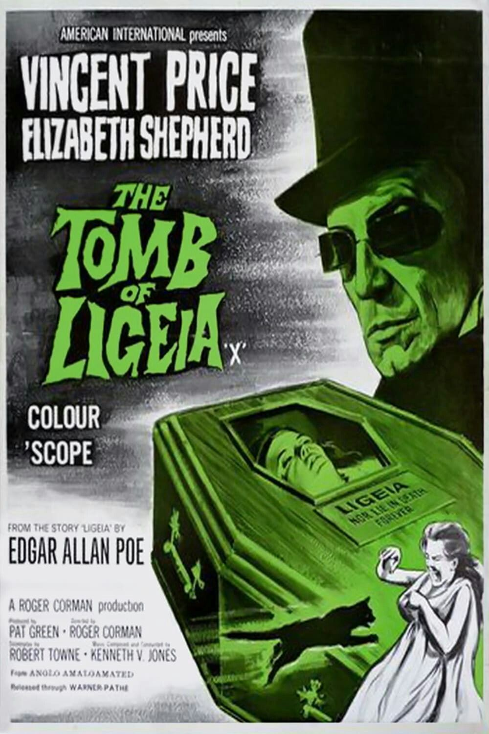 Movie For Halloween 1964 The Tomb Of Ligeia American Horror