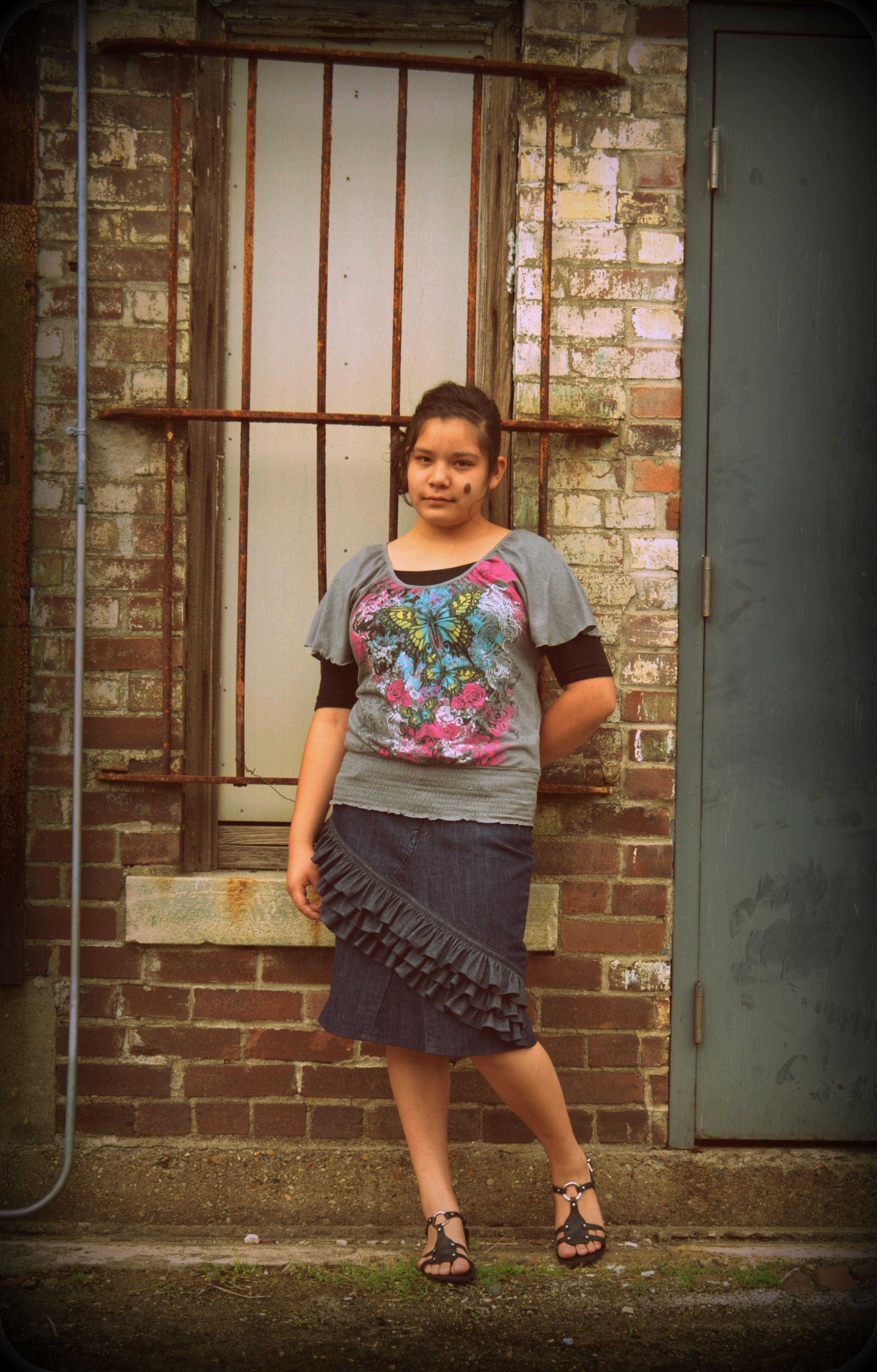I Love My Jean Skirt - Dress Ala