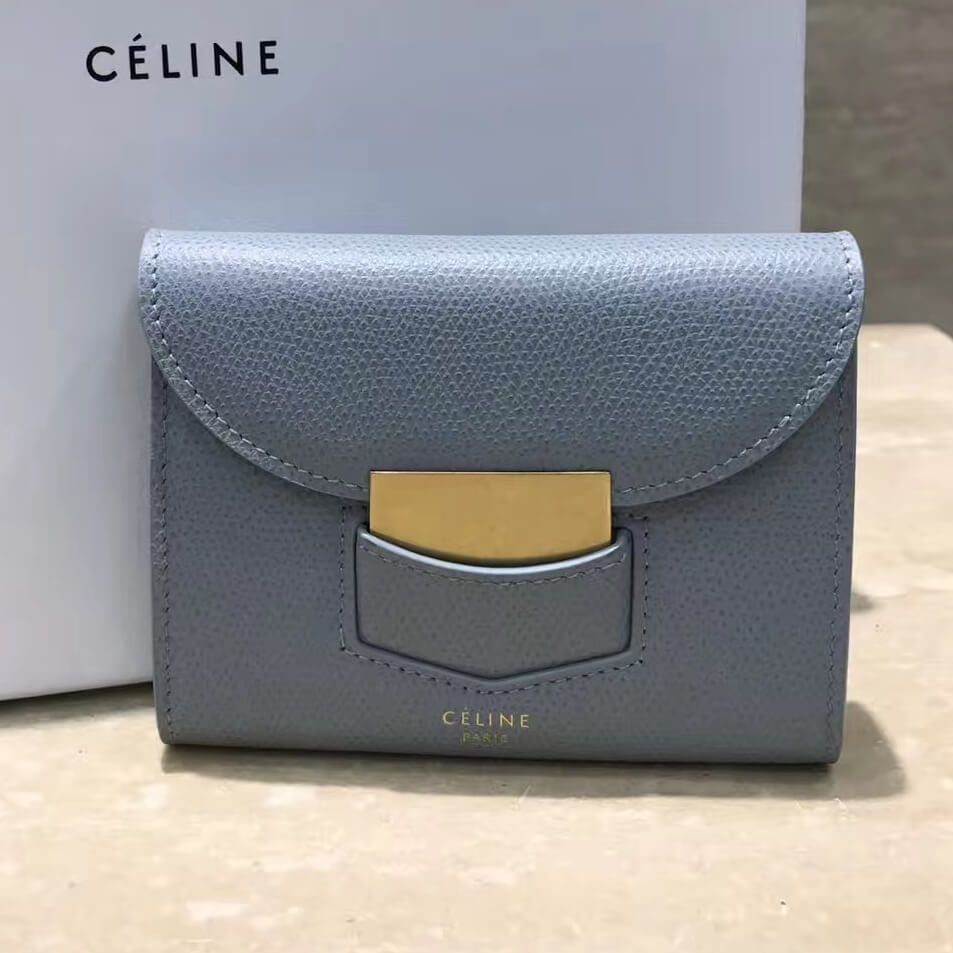 a5ad10d851 Celine Small Folded Wallet 100% Authentic 80% Off