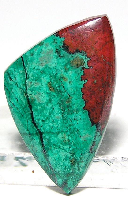 Cuprite Chrysocolla Cabochon Sonora Sunrise | beautiful gemstones