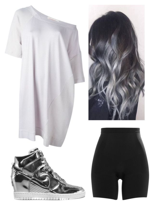 """""""Sin título #1430"""" by saradiamondlovee ❤ liked on Polyvore featuring SPANX, A.F. Vandevorst and NIKE"""