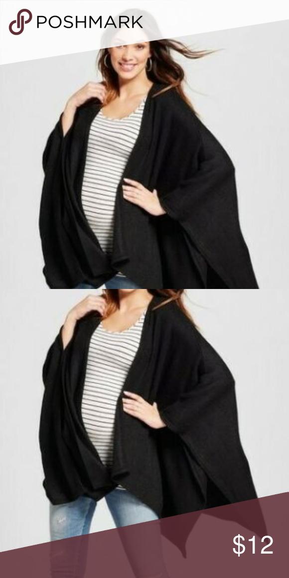 2519aab6988 Maternity Cozy Wrap Cardigan One Size Fits All Maternity Cozy Wrap ...