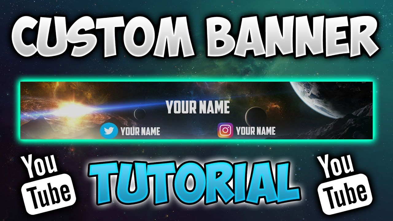 How To Make A Youtube Banner Without Photoshop Pixlr Tutorial Youtube Buy Youtube Subscribers Pixlr Tutorial Youtube Banners