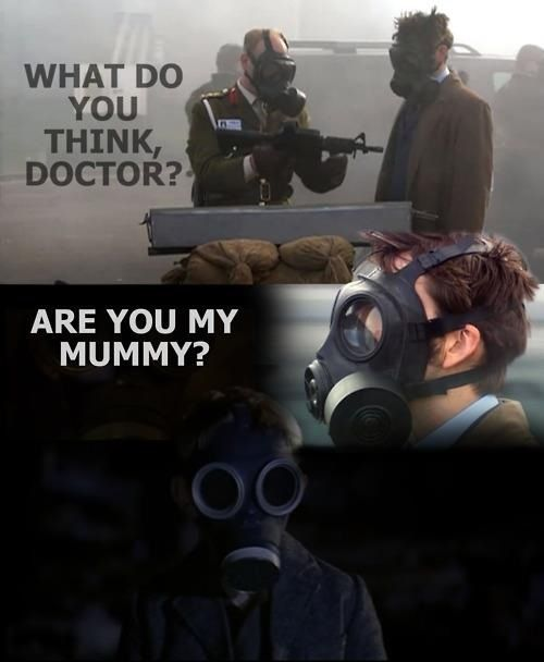 Mummy? Are you my mummy?