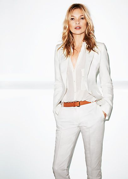 love a white suit; that is this one!