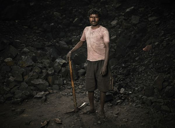 Coal Miners by Ken Hermann