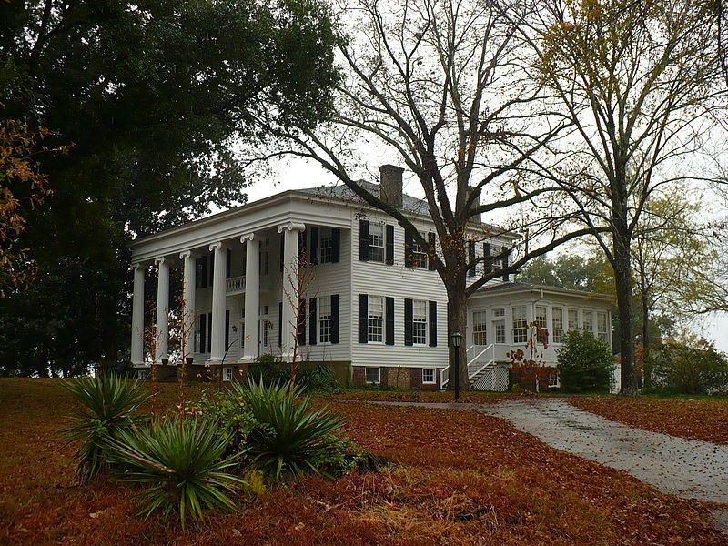 Thornhill Plantation Forkland, Alabama built in 1833