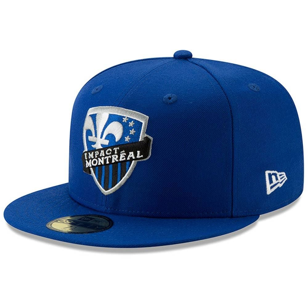 Mens new era blue montreal impact classic hit 59fifty