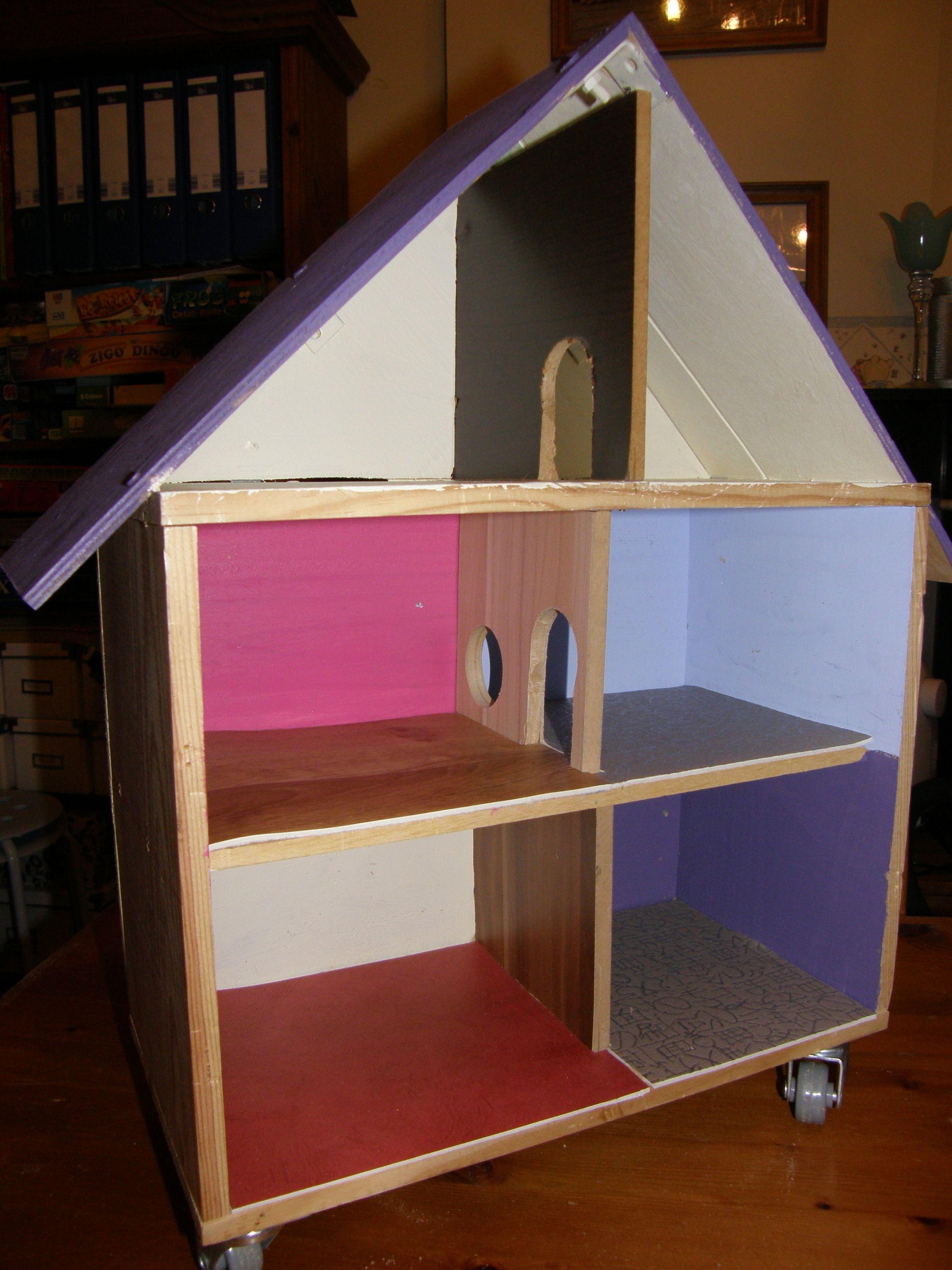 Ecole Playmobil Fait Avec Une Caisse A Vin
