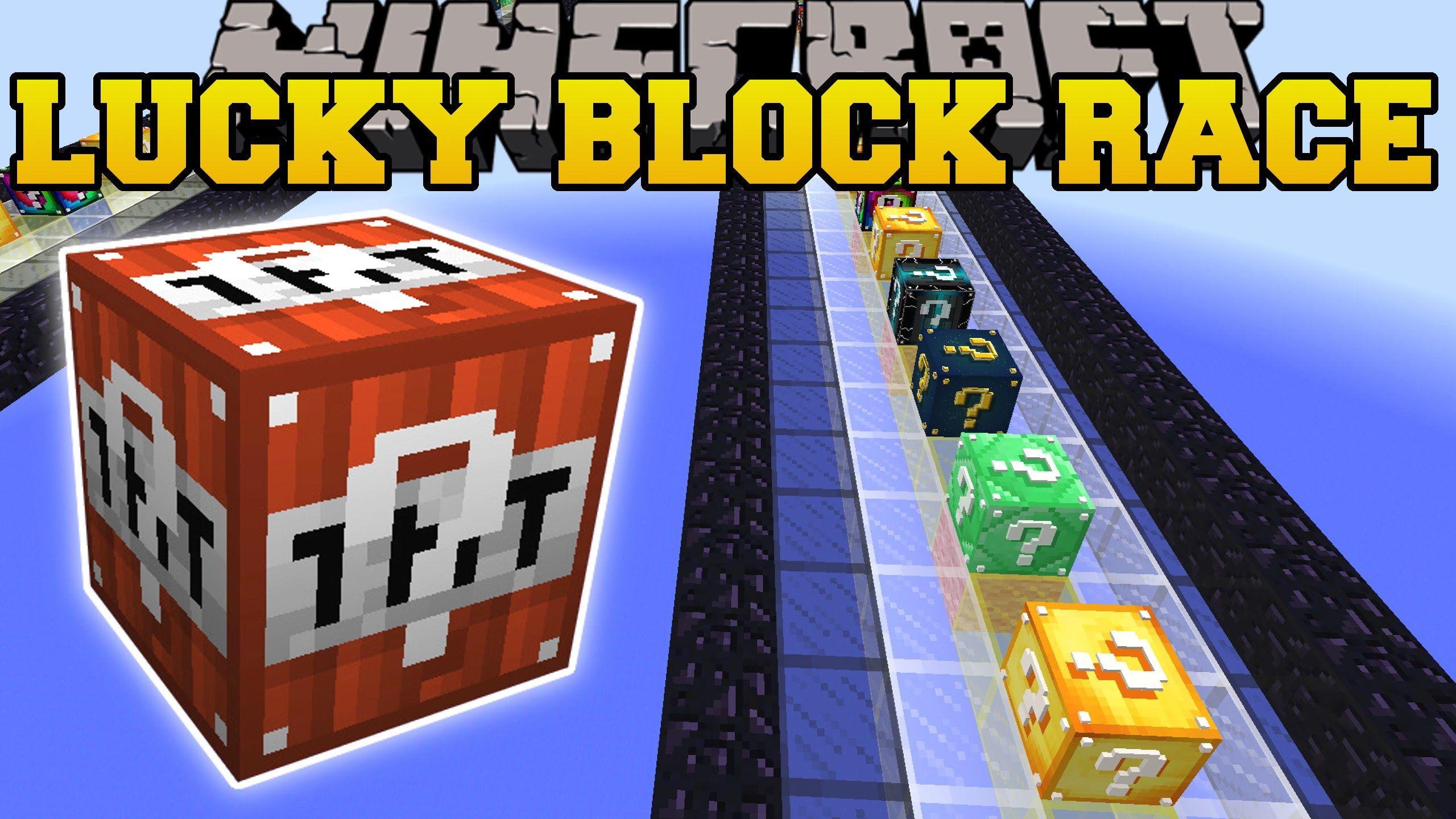 Minecraft SO MANY BLOCKS LUCKY BLOCK RACE Lucky Block