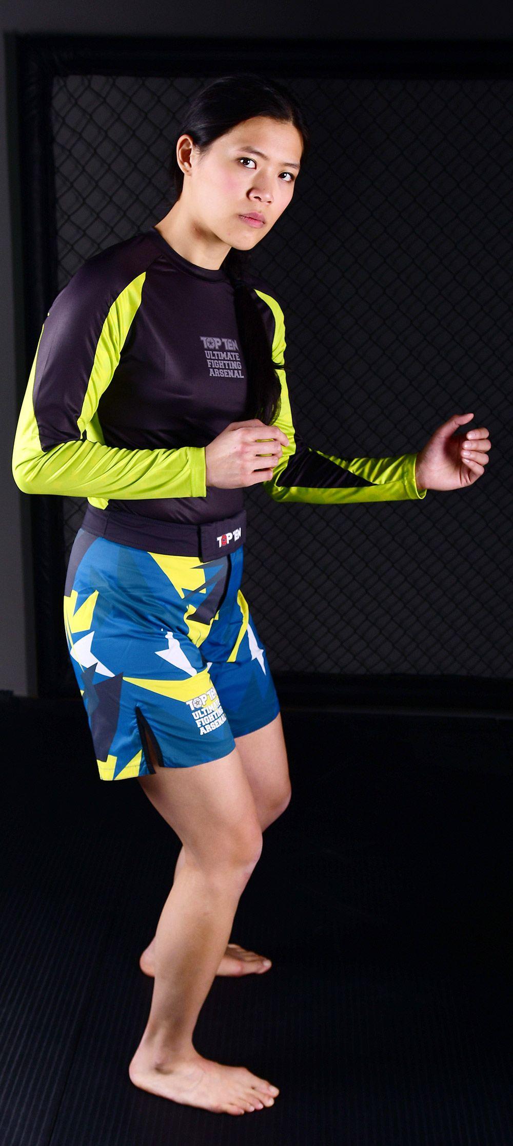 Top Ten Mma Shorts Jungle Blue Black Yellow In 2020 Mma Shorts Black N Yellow Mma