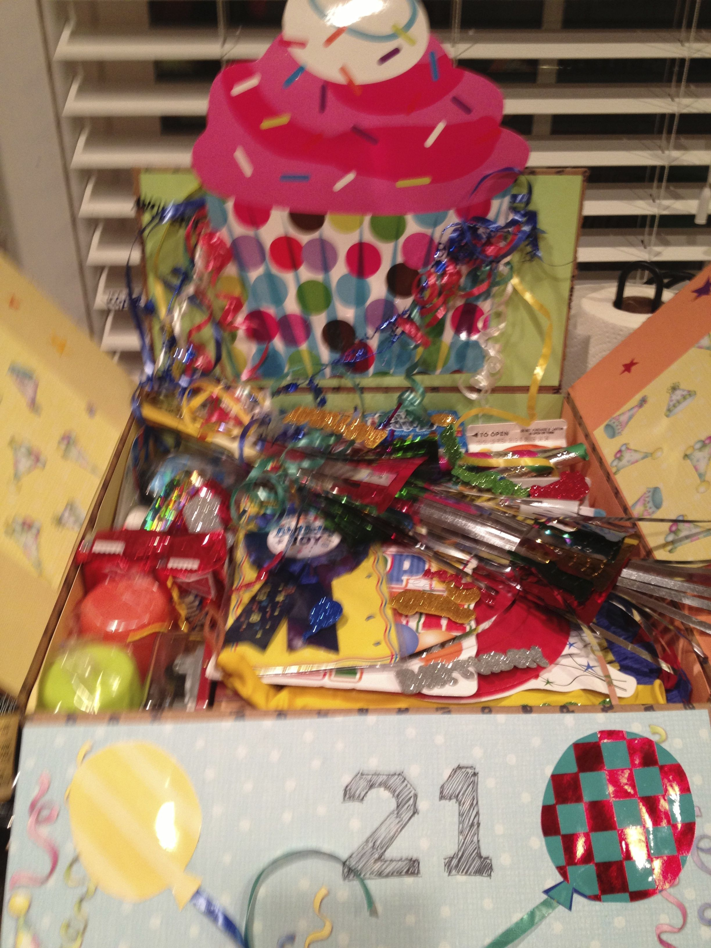 21st Birthday Party In A Box Pi 241 Ata Decorations