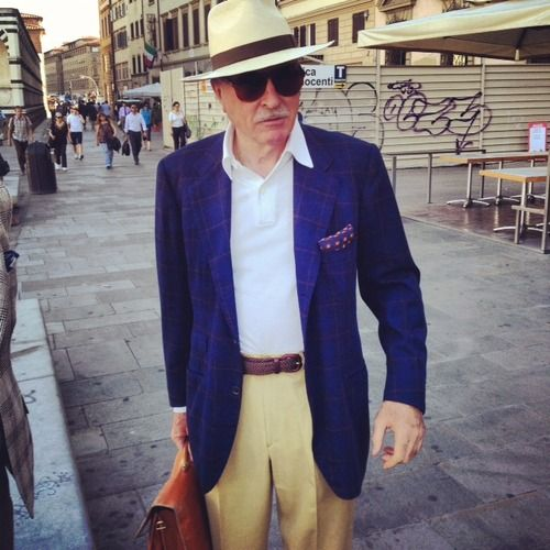 Die, Workwear! - Some Casual Looks at Pitti