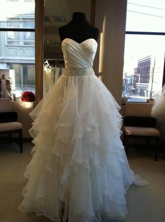 Brand New Designer Bridal Gown & Veil